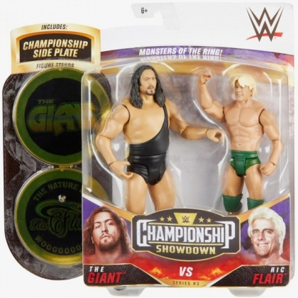 WWE: The Giant & Ric Flair - Basic Figure 2 Pack 8