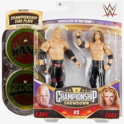 WWE: Kane & Edge - Basic Figure 2 Pack 9