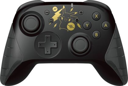 Hori Switch Wireless Horipad - Pikachu Black & Gold