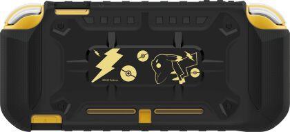 Hori Switch Lite System Armor - Pikachu Black & Gold
