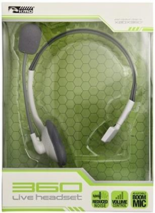 TSX Kmd Live Chat Headset With Mic - White
