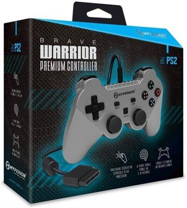 Hyperkin Brave Warrior Premium Controller PS2 - Silver