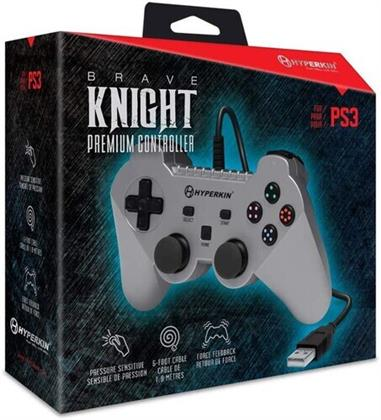 Hyperkin Brave Knight Controller PS3/PC/Mac - Silver