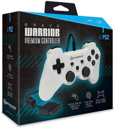 Hyperkin Brave Warrior Premium Controller PS2 - White