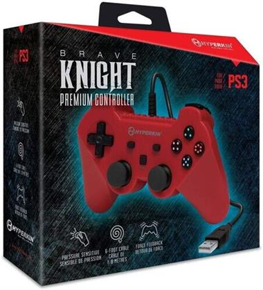 Hyperkin Brave Knight Controller PS3/PC/Mac - Red
