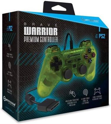 Hyperkin Brave Warrior Prem Controller PS2 - Yllw