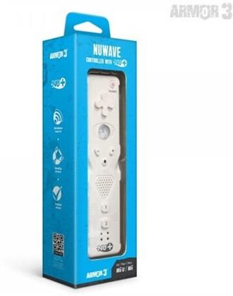 Armor4 Nuwave Controller With Nu+ Wii/Wiu - White