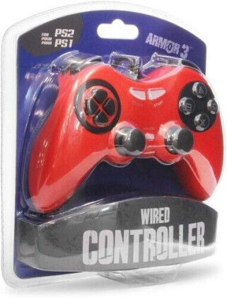 Armor 3 Wired Controller - PS2 - Red