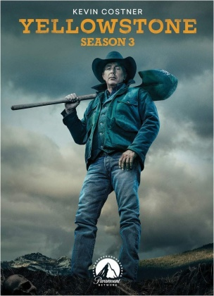 Yellowstone - Season 3 (4 DVDs)