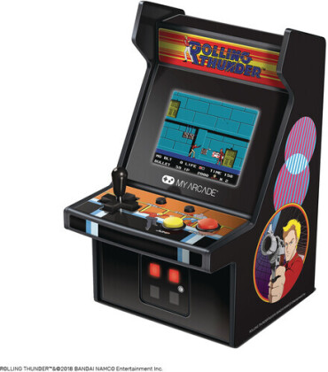 My Arcade Dgunl3225 Rolling Thunder Retro Micro Player