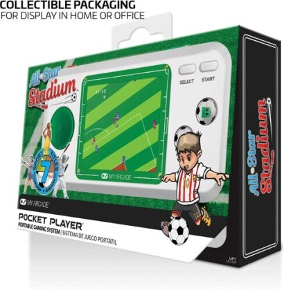 My Arcade Dgunl-3275 All-Star Stadium Pocket Player