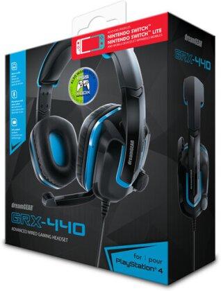 Dreamgear GRX-440 Headset PS4 Black/Blue