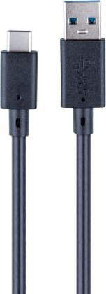 USB-C- Cable [5 m] - black [XSX]