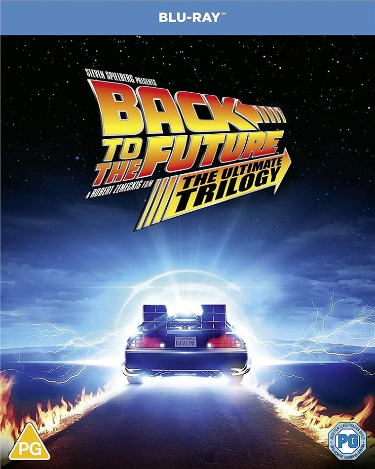 Back To The Future - The Ultimate Trilogy (3 Blu-rays)