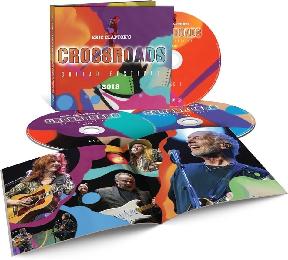 Eric Clapton - Eric Clapton's Crossroads Guitar Festival 2019 (3 CDs)