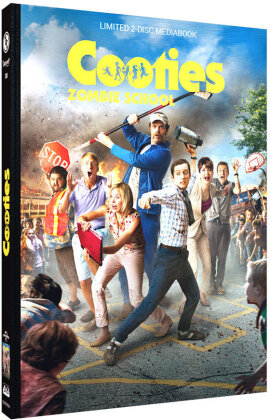 Cooties - Zombie School (2014) (Cover B, Limited Edition, Mediabook, Blu-ray + DVD)