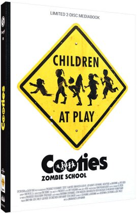 Cooties - Zombie School (2014) (Cover C, Limited Edition, Mediabook, Blu-ray + DVD)