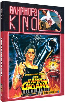 Der Kampfgigant (1987) (Cover A, Bahnhofskino, Limited Edition, Mediabook, Blu-ray + DVD)