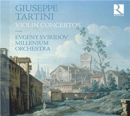 Giuseppe Tartini (1692-1770), Evgeny Sviridov & Millenium Orchestra - Violin Concertos