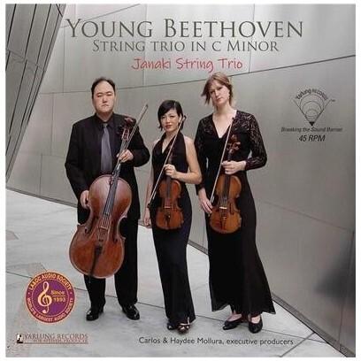 Jamaki String Trio, Sarah Mckinney, Katie Kadarauch, Arnold Choi & Ludwig van Beethoven (1770-1827) - Young Beethoven - String Trio in C minor (LP)