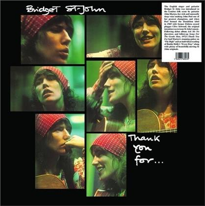 Bridget St. John - Thank You For (2020 Reissue, Trading Places, LP)