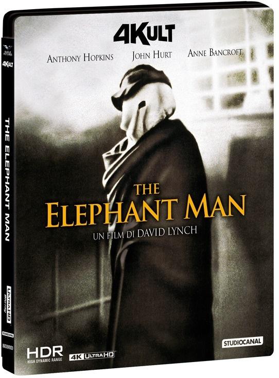 The Elephant Man (1980) (4Kult, 4K Ultra HD + Blu-ray)