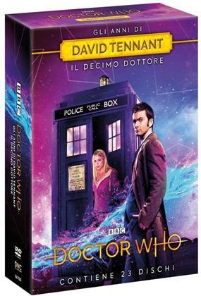 Doctor Who - Gli anni di David Tennant - Stagioni 2-3-4 + The Specials (23 DVDs)