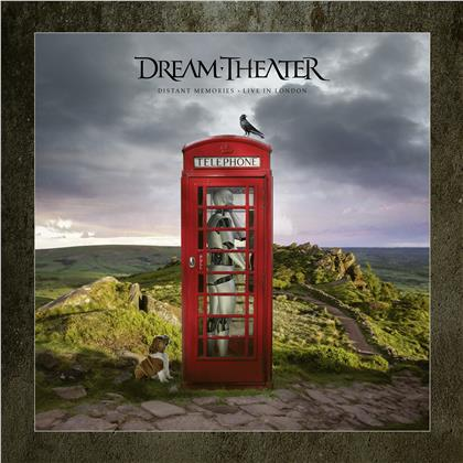 Dream Theater - Distant Memories - Live in London (Artbook Edition, Limited Deluxe Edition, 3 CDs + 2 Blu-rays + 2 DVDs)