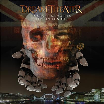 Dream Theater - Distant Memories - Live in London (Multibox, 3 CDs + 2 DVDs)