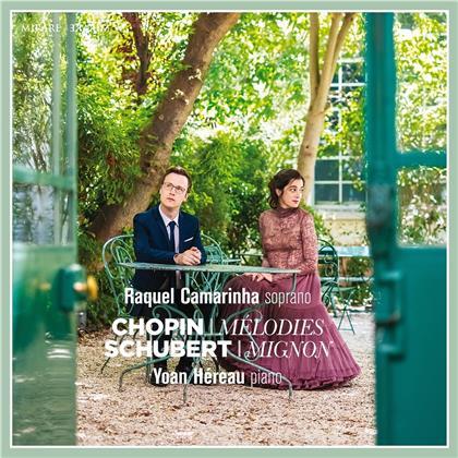 Raquel Camarinha, Frédéric Chopin (1810-1849) & Franz Schubert (1797-1828) - Melodies / Mignon