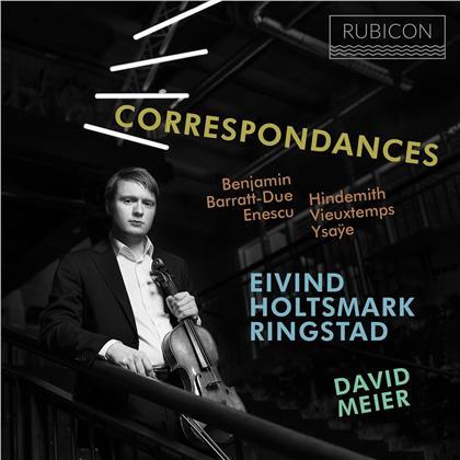 Eivind Holtsmark Ringstad & David Meier - Correspondances