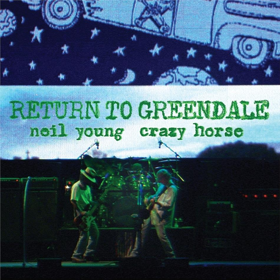 Neil Young & Crazy Horse - Return To Greendale (Deluxe Edition, 2 LPs + 2 CDs + Blu-ray + DVD)