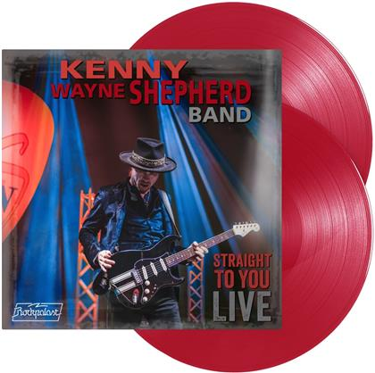 Kenny Wayne Shepherd - Straight To You - Live (Transparent Red Vinyl, 2 LPs)