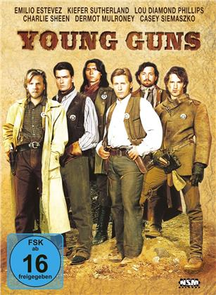 Young Guns (1988) (Mediabook, Blu-ray + DVD)