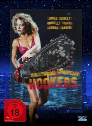Hollywood Chainsaw Hookers (1988) (Lenticular Cover, Limited Edition, Mediabook, Blu-ray + DVD)
