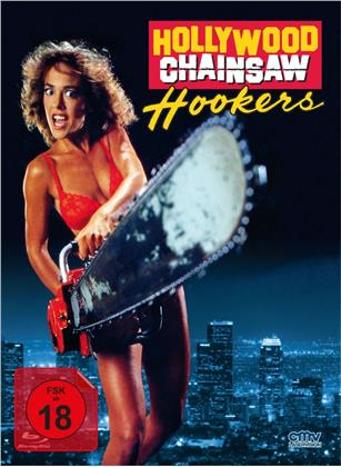 Hollywood Chainsaw Hookers (1988) (Cover B, Limited Edition, Mediabook, Blu-ray + DVD)