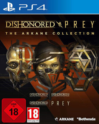 Arkane Collection - (Dishonored + Prey)
