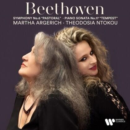 Ludwig van Beethoven (1770-1827), Martha Argerich & Theodosia Ntokou - Beethoven