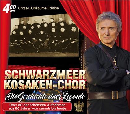 Peter Orloff & Der Schwarzmeer Kosaken-Chor - Die Geschichte einer Legende (4 CDs)