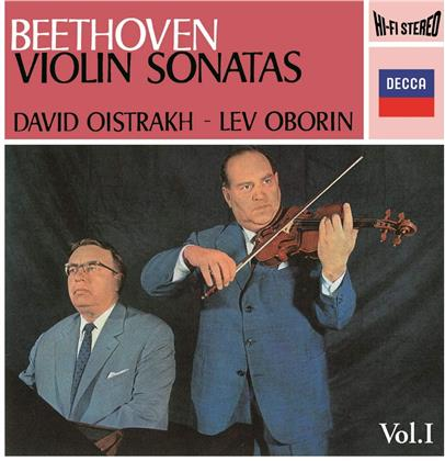 Ludwig van Beethoven (1770-1827), David Oistrakh & Lev Oborin - Beethoven: Sonatas For Piano & Violin Vol 1 (2020 Reissue, UHQCD, MQA CD, Japan Edition)