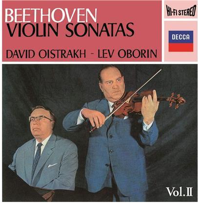 Ludwig van Beethoven (1770-1827), David Oistrakh & Lev Oborin - Beethoven: Sonatas For Piano & Violin Vol 2 (2020 Reissue, UHQCD, MQA CD, Japan Edition)