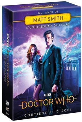 Doctor Who - Gli anni di Matt Smith - Stagioni 5-6-7 + Speciale 50 anni (18 DVD)