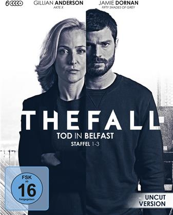 The Fall - Tod in Belfast - Staffel 1-3 (Uncut, 6 Blu-rays)