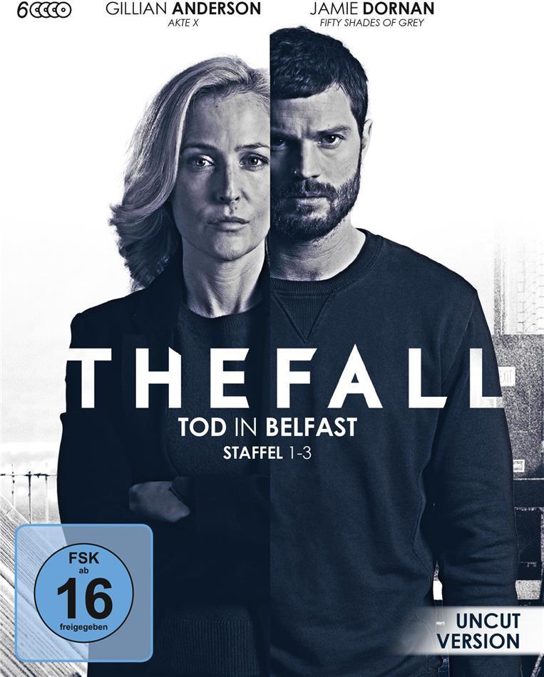 The Fall - Tod in Belfast - Staffel 1-3 (Uncut, 6 Blu-rays)