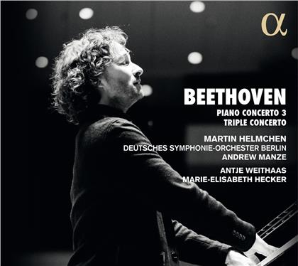 Marie-Elisabeth Hecker, Ludwig van Beethoven (1770-1827), Andrew Manze, Antje Weithaas, Martin Helmchen, … - Piano Concerto 3, Triple Concerto