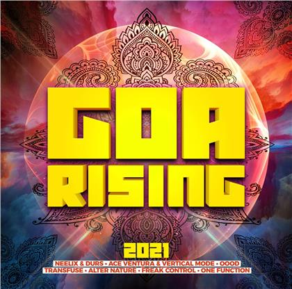 Goa Rising 2021 (2 CDs)