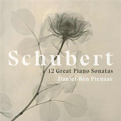 Franz Schubert (1797-1828) & Daniel-Ben Pienaar - 12 Great Piano Sonatas