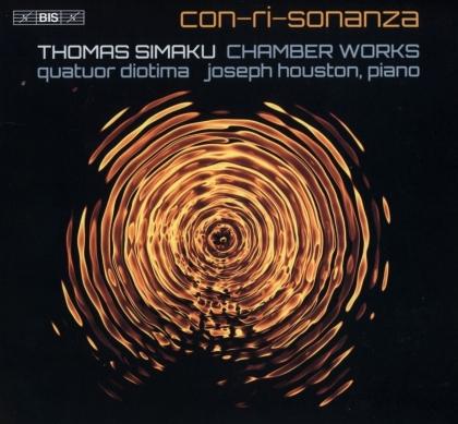 Quatuor Diotima, Thomas Simaku & Joseph Houston - Con-Ri-Sonanza - Chamber Works (Hybrid SACD)