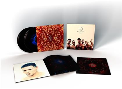 Rammstein - Herzeleid (XXV Anniversary Edition, 2020 Reissue, Gatefold, Limited Edition, Remastered, Blue/Black Splatter Vinyl, 2 LPs)