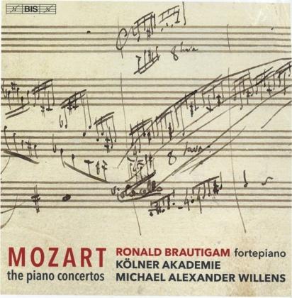 Wolfgang Amadeus Mozart (1756-1791), Michael Alexander Willens, Ronald Brautigam & Kölner Akademie - The Piano Concertos (12 Hybrid SACDs)